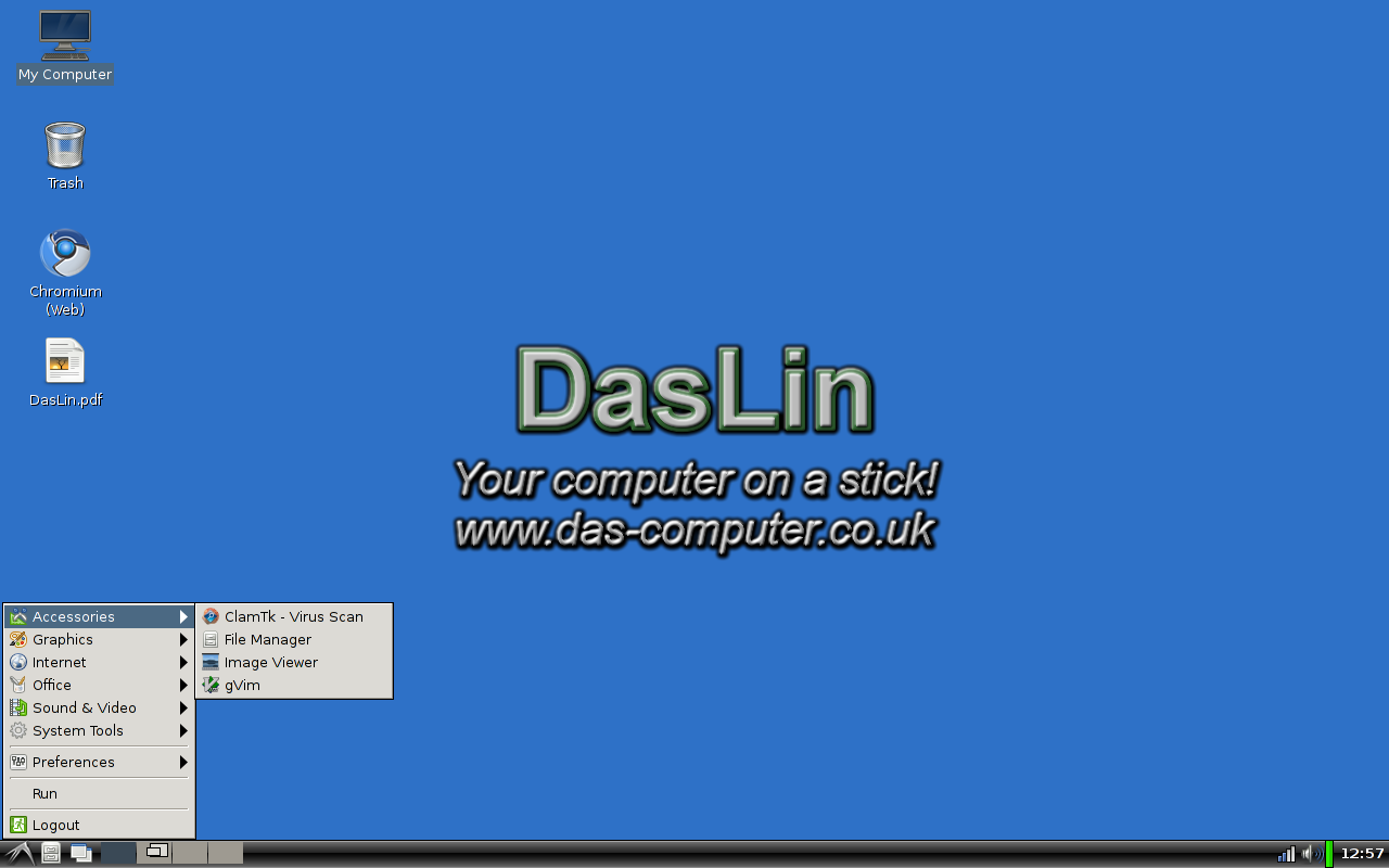 Daslin includes a virus scanner